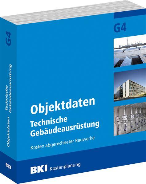 Bki Objektdaten Technische Gebaeudeausruestung G5 by Bki Objektdaten Technische Geb 228 Udeausr 252 Stung G4 Bki
