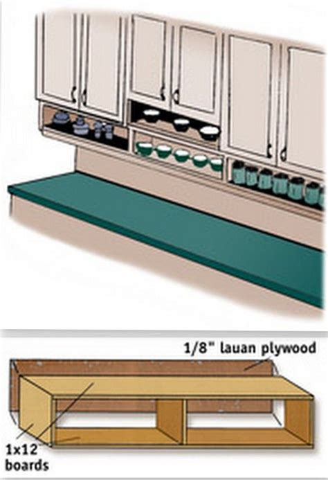 under cabinet storage ideas 30 diy storage solutions to keep the kitchen organized