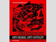 Get ready for AntiColonial AntiCapitalist actions this