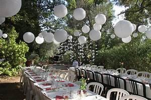 decoration fete exterieur jardin decoration pour jardin With deco pour jardin exterieur