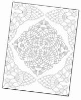 Crochet Coloring Interweave sketch template