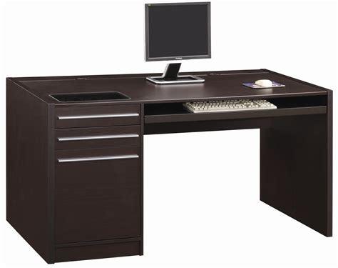 black wood computer desk contemporary home office home office desk cappuccino