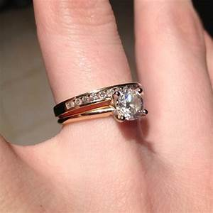 carat diamond solitaire ring on hand hd engagement rings With 1 carat diamond wedding ring