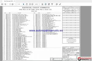 Auto Repair Manuals  Ford Tis 2018 Workshop Manual Full Dvd
