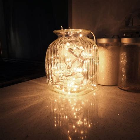 1000 images about light on jars