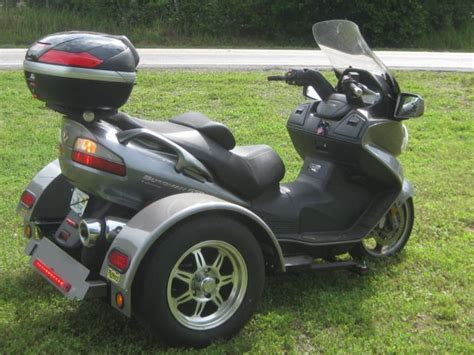 Suzuki Burgman 650 Automatic With Richland Roadster Trike