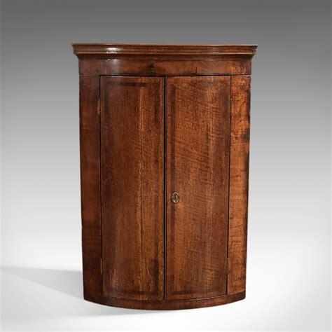 vintage corner cabinet antique corner cabinet georgian hanging cupboard c 1780 3179