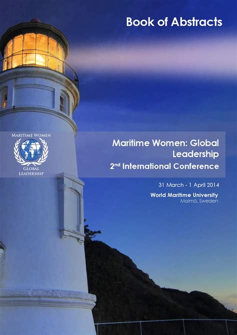 maritime women global leadership  book  abstracts