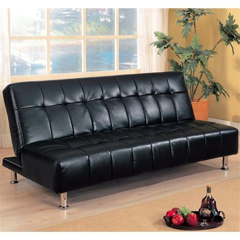 Leather Sofa Bed by Black Leather Sofa Bed A Sofa Furniture Outlet Los