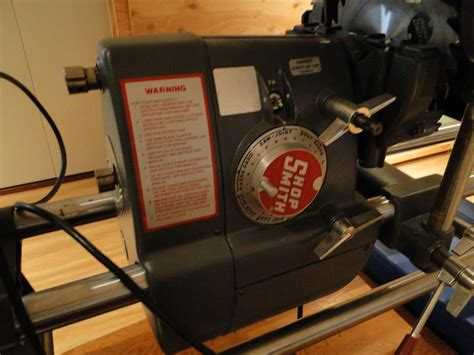 shopsmith power tool woodworking system mark  saanich
