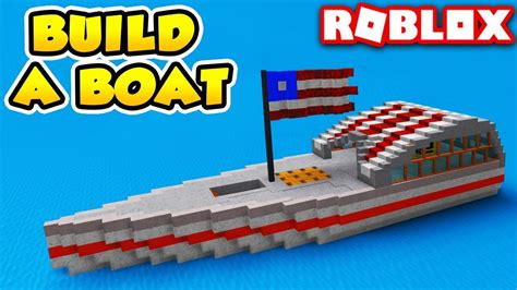 How To Build A Boat Roblox by Awesome America Boat In Build A Boat For Treasure Roblox
