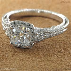vintage princess cut engagement rings vintage princess cut engagement ring i would die weddingsabeautiful
