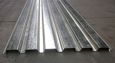 Steel Structure Building Corrugated Metal Sheets Composite