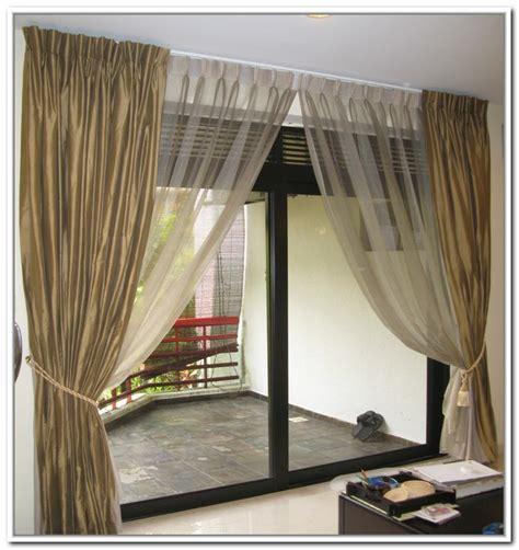 curtain on a budget curtain sliding glass door design