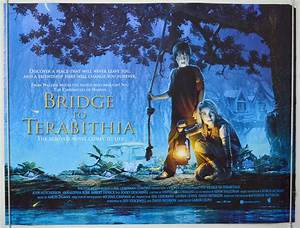 Bridge To Terabithia (The) - Original Cinema Movie Poster ...