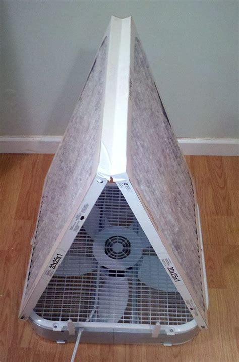 tom builds stuff  box fan air purifier diy air