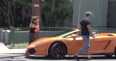 This Is The Ultimate Lamborghini Gold-digger Prank