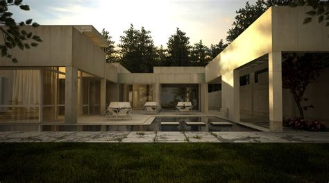 Pedal To The Metal A Sleek House That Puts A For Cars On Display by House With Pool Renders