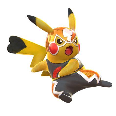 Pikachu Libre Pokkn Tournament Wiki Fandom Powered By