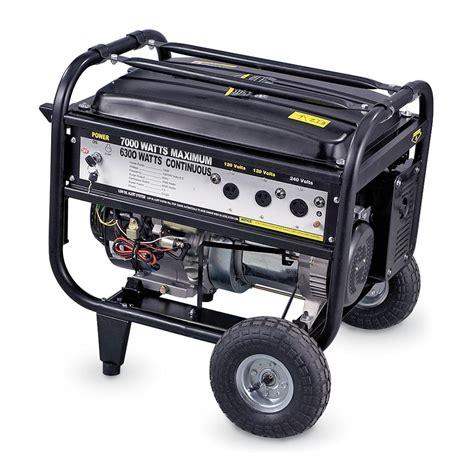 Generator Tool by Buffalo Tools 7 000 Watt Generator 100968 Portable