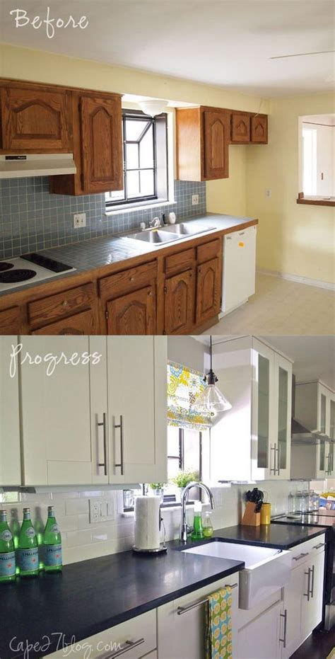 pretty    kitchen makeovers