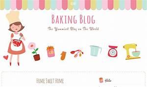 baking blog free blogger template ipietoon cute blog design With free blogger header templates