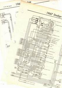 1967 Dodge Truck A Models 67 Wiring Guide Chart Diagram