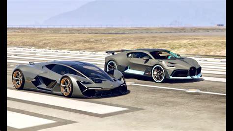Bugatti Divo Vs Lamborghini Terzo Millennio