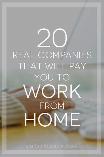 real companies    hire   work  home