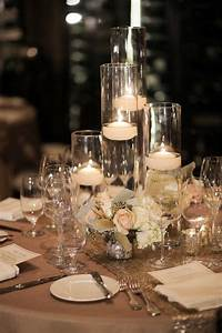 Beautiful, Centerpieces, Created, With, Candles
