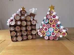 Calendrier Avent Rouleau Papier Toilette : calendrier de l 39 avent r alis avec des rouleaux de papier wc le blog de fanfan88 ~ Farleysfitness.com Idées de Décoration