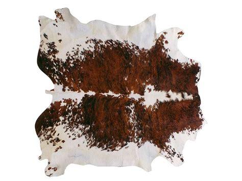 tappeto in pelle pelle naturale tricolore tappeto
