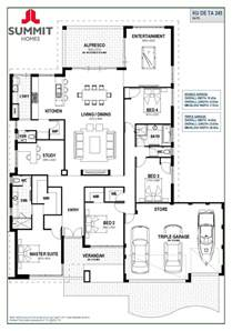 australian home interiors floor plan friday open living with garage