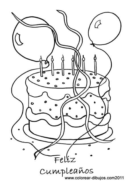 Felíz Cumpleaños Dibujos para descargar imprimir y