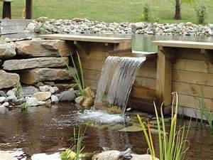 Lame D Eau Bassin : bassin de baignade naturel semi enterr cascade rebeyrol ~ Premium-room.com Idées de Décoration