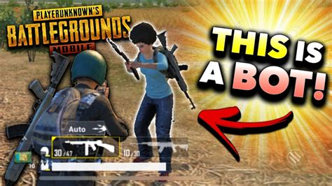 is pubg mobile bots how to spot a bot in pubg mobile tips and tricks