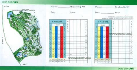 table creek golf course table mountain golf course scorecard designer tables