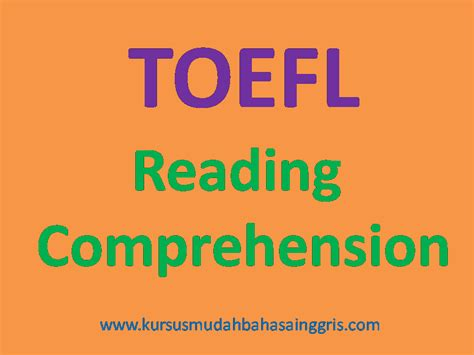(woman) did you see the manager about the job in the bookstore? Contoh Soal Tes TOEFL Reading Comprehension Lengkap Dengan ...