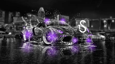 porsche  spyder purple wallpaper