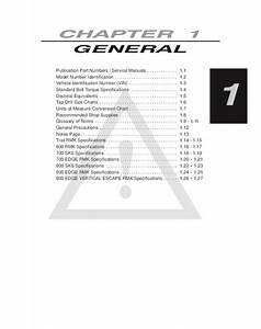 2003 Polaris Trail Rmk Snowmobile Service Repair Manual