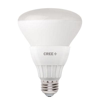 cree 65w equivalent soft white br30 dimmable led
