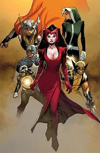 the Uncanny Avengers (the Mighty Thor, Havok, the Scarlet ...