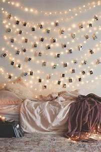 Tumblr Zimmer Lichterketten : 21 tolle und stimmungsvolle diy wohndeko ideen mit lichterketten basteln ~ Eleganceandgraceweddings.com Haus und Dekorationen