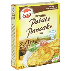 Next, add two eggs to a medium bowl, whisk then mix in sweet potatoes, milk, butter and vanilla. Amazon.com : Panni Bavarian Potato Pancake Mix, 6.63-Ounce ...