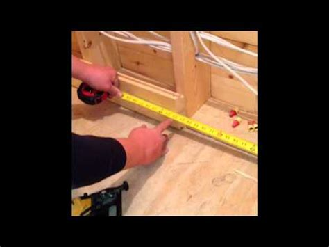how to install pine boards on walls how to install knotty pine youtube