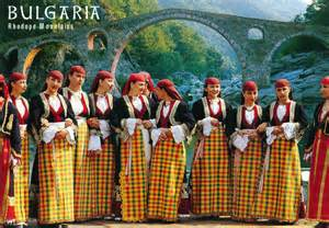 world come to my home 0394 bulgaria in the rhodopes in traditional clothes