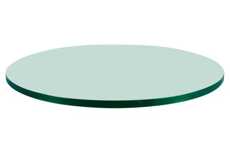 thick glass table top 36 inch round glass table tops dulles glass and mirror