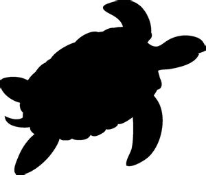 turtle clipart black and white sea turtle silhouette clipart panda free clipart images