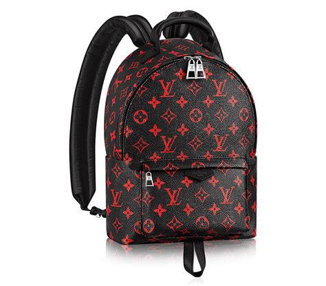 louis vuitton palm springs backpack    versions including   costs