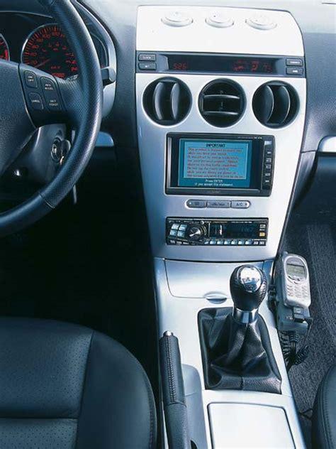 custom stereo installation on a mazda6 rx8club